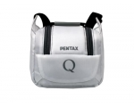 White SLR bag for PENTAX Q