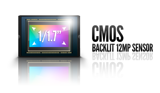 big backilluminated CMOS sensor