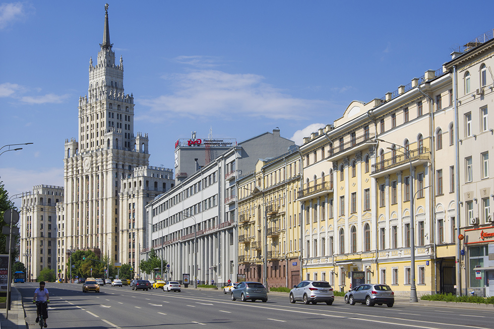 Red Gate Building, Moscow