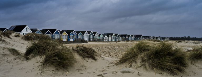 Beach huts at Mudeford, Dorset 2