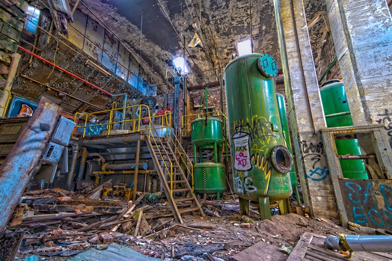 The Abandoned Factory
