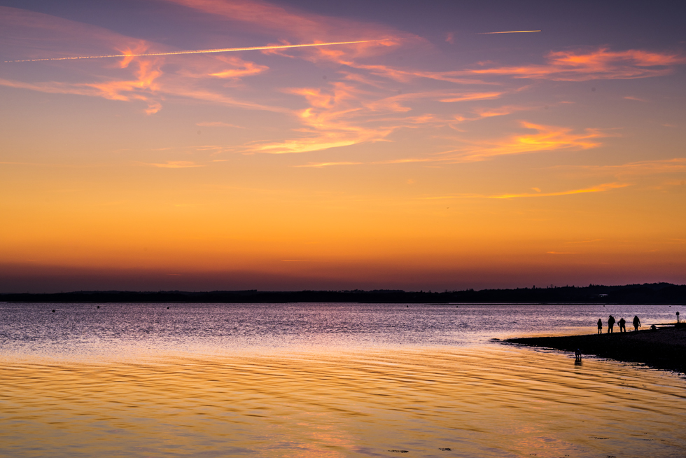 Poole Harbour afterglow