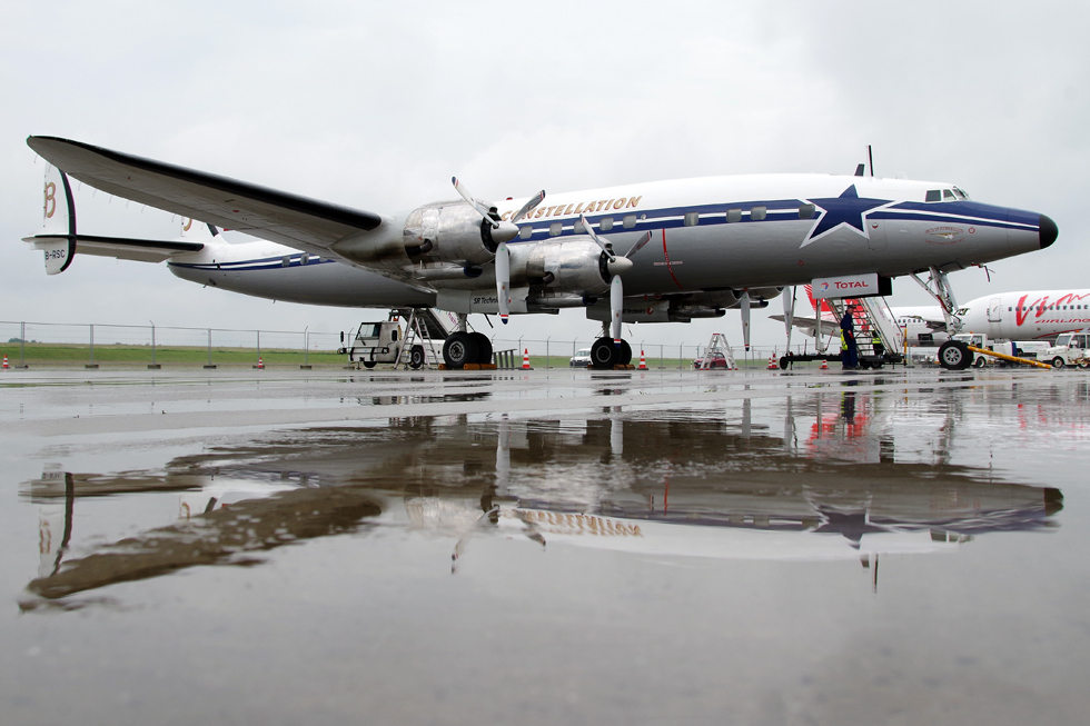 SCFA, Lockheed C121 (L-1049F) Super Constellation, HB-RSC
