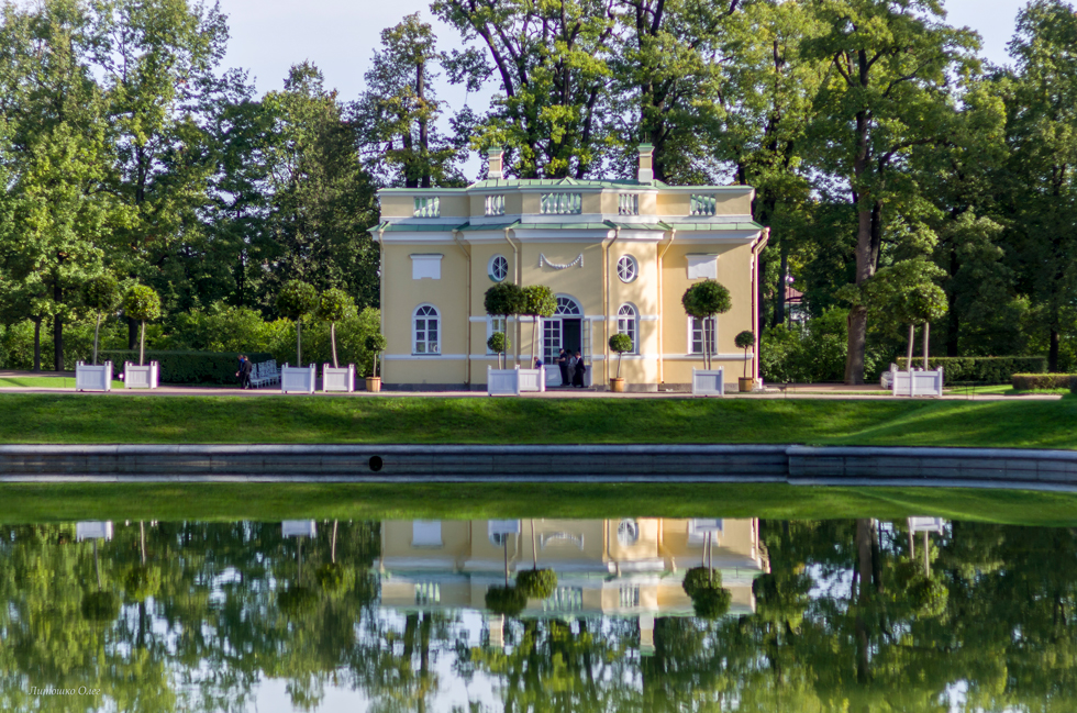 Catherine Park. The Town Of Pushkin.