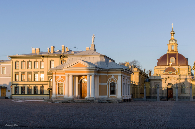 Boat House. Peter and Paul Fortress. Saint-Petersburg.