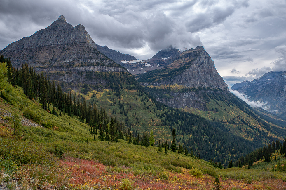 Going to the Sun Road - Rocky Mountains