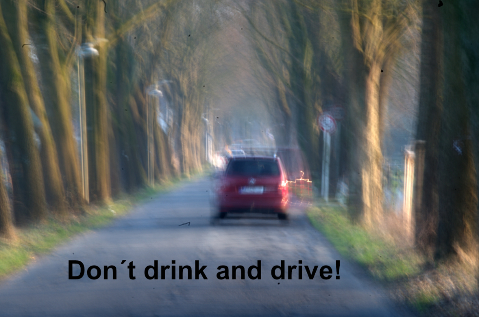 Don´t drink and drive!