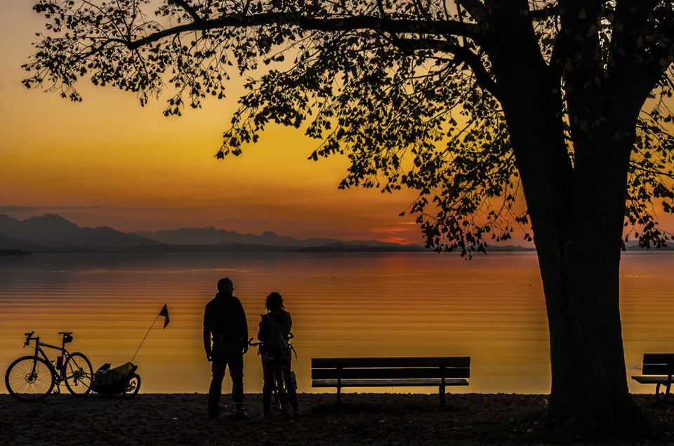 Abends am Chiemsee