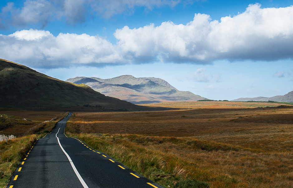 Mountain Road and Bogland